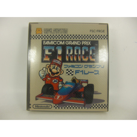 Famicom Grand Prix F1 Race - Disk