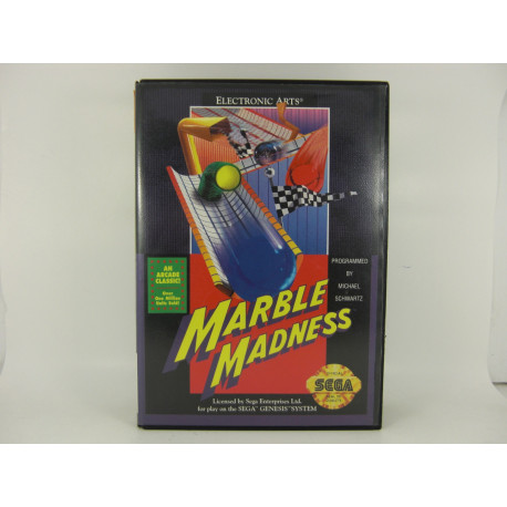 Marble Madness.