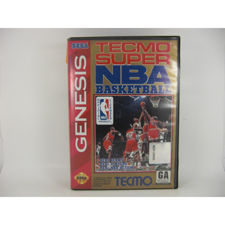 Tecmo Super NBA Basketball.
