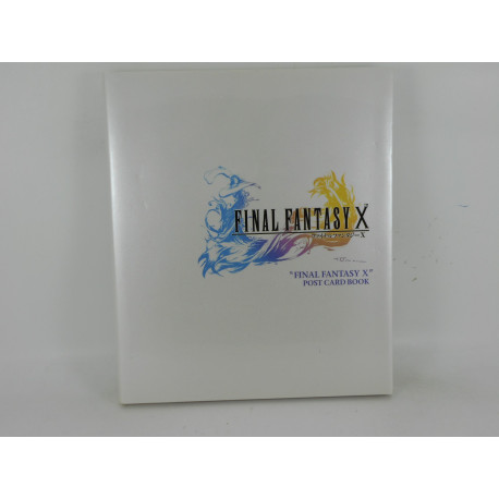 Final Fantasy X - Post Card Book - Japones