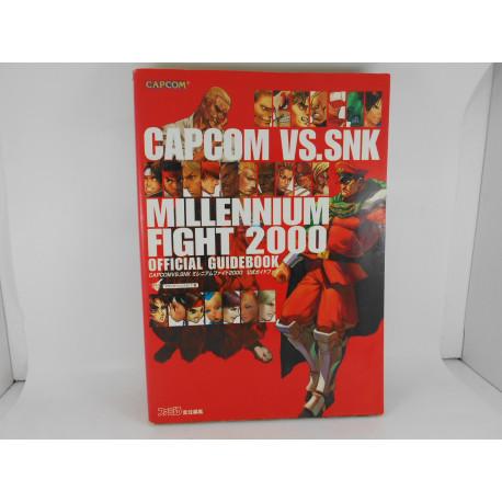 Guia Capcom Vs. SNK Millenium Fight 2000 Official Guidebook - Japones