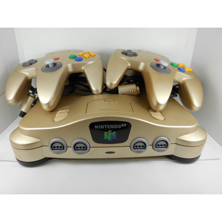 Nintendo 64 Japonesa Gold Ed. 2 mandos