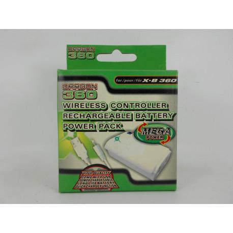 Xbox 360 Bateria para Mando con Cargador