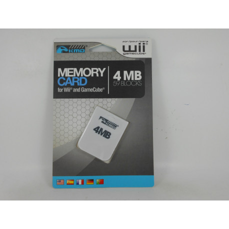 Game Cube / Wii Memory Card 4MB (Nueva)