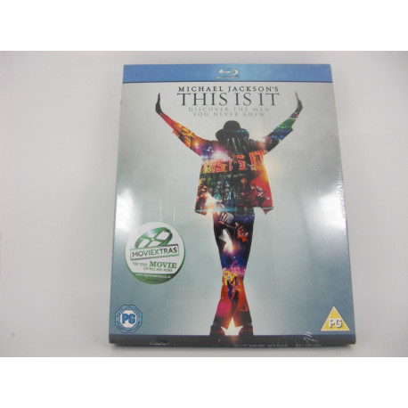 Bluray Michael Jackson's This it It