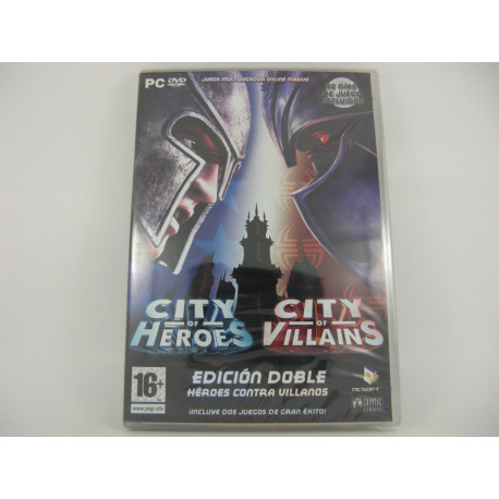City of Heroes - City of Villains Edición Doble - Heroes contra Villanos