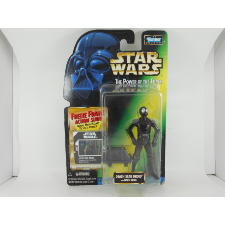 Death Star Droid With Mouse Droid