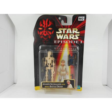 Anakin Skywalker With Battle Droid
