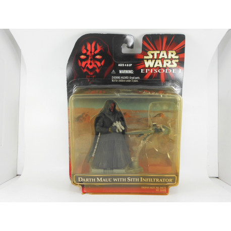 Darth Maul with Sith Infiltrator
