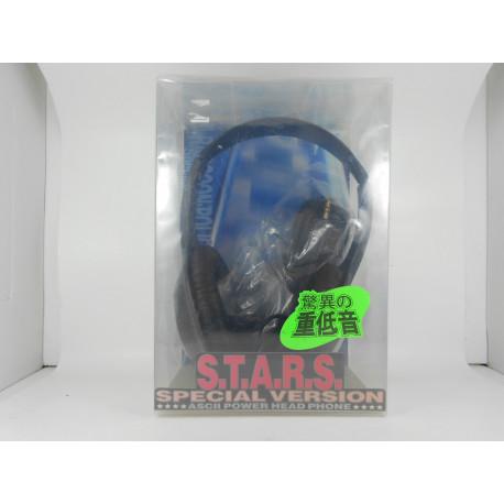 Biohazard ASCII Power Head Phone STARS