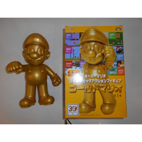 Super Mario Gold - 30th Anniversary 30Cm