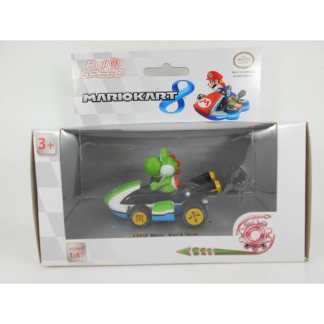 Coche Mario Kart 8 Pull & Speed - Yoshi