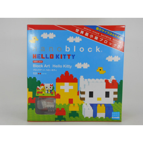 Nanoblock - Block Art Hello Kitty