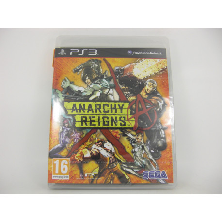 Anarchy Reigns - U.K.