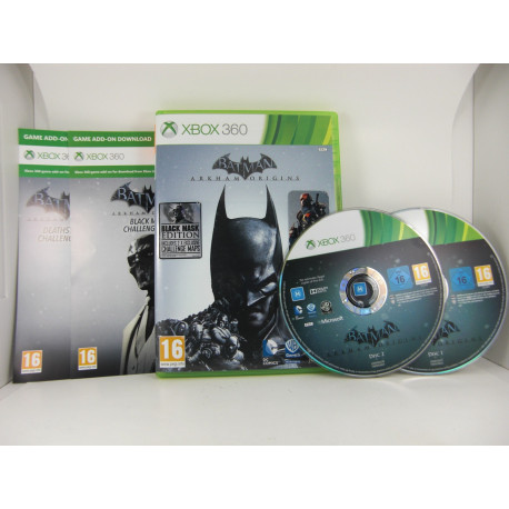 Batman Arkham Origins - Black Mask Edition - U.K.