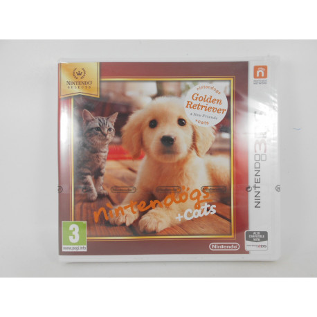 Nintendogs + Cats: Golden Retriever - Selects