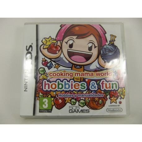 Cooking Mama Word: Hobbies And Fun