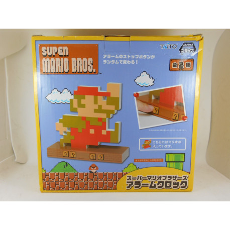 Super Mario Bros. Reloj Alarma - Mario Version