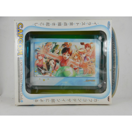 Capcom Girls Character Picture Clock