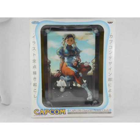 Capcom Character Picture Clock - Chun-Li