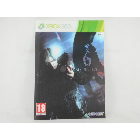 Holograma Resident Evil 6 Xbox 360