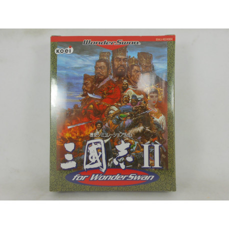 Sangokushi II for Wonderswan