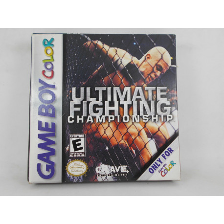 Ultimate Fighting Championship.