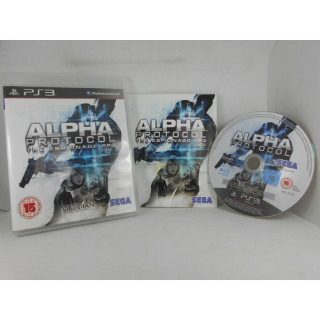 Alpha Protocol - U.K.