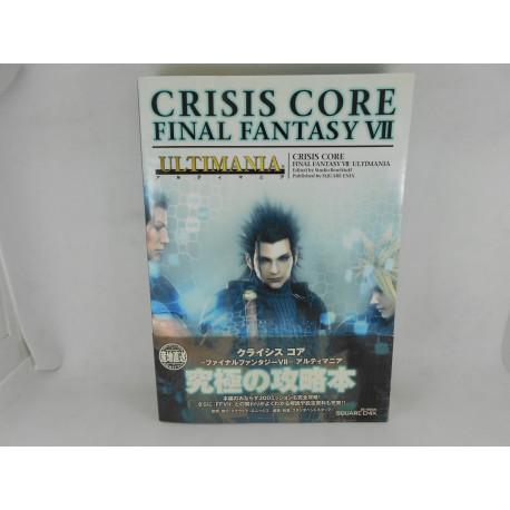 Guia Crisis Core Final Fantasy VII Ultimania - Japonesa