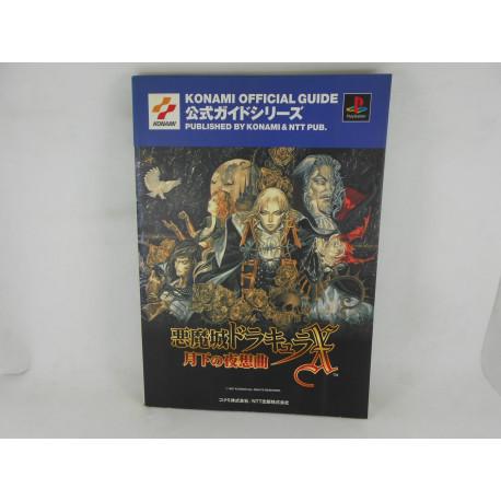 Guia Castlevania Symphony of the Night - Konami Official Japonesa
