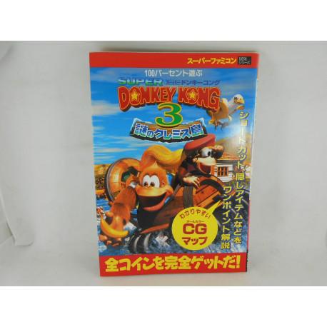 Guia Super Donkey Kong 3 SF - Japonesa
