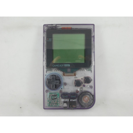 Game Boy Pocket Clear Purple