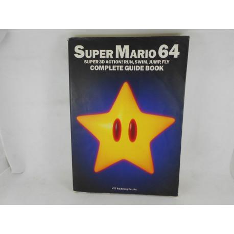 Guia Super Mario 64 Complete Guide Book Japonesa