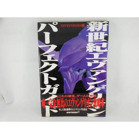 Guia N64 Neon Genesis Evangelion Perfect Guide Japonesa