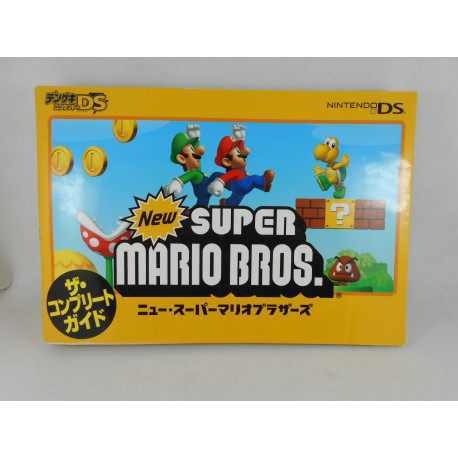 Guia New Super Mario Bros. DS The Complete Guide Japonesa
