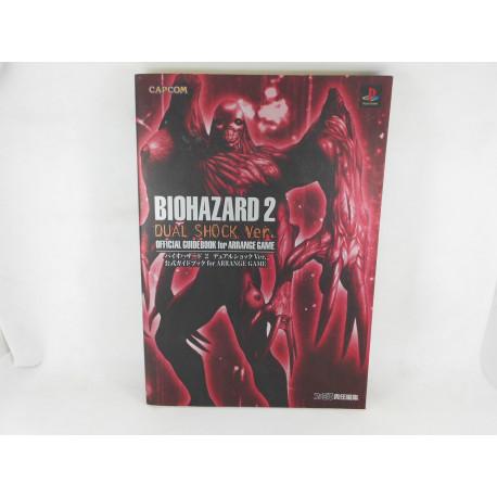 Guia Biohazard 2 Dual Shock Ver. Official Guidebook Japonesa