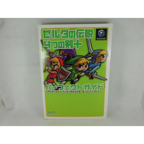 Guia Zelda No Densetsu 4 Tsu No Ken Perfect Guide Japonesa