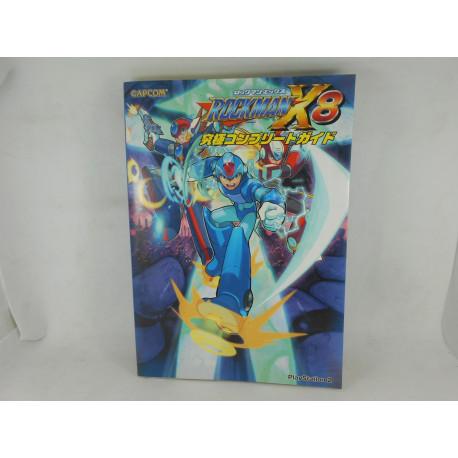 Guia Rockman X8 Complete Guide Japonesa