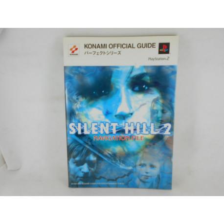 Guia Silent Hill 2 Navigation File Japonesa