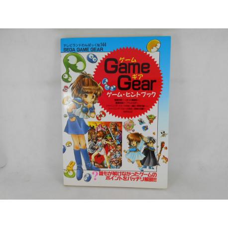 Game Gear Hint Book No 144 Japones