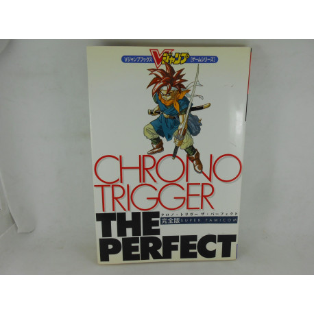 Guia Chrono Trigger The Perfect  SFAM Japonesa