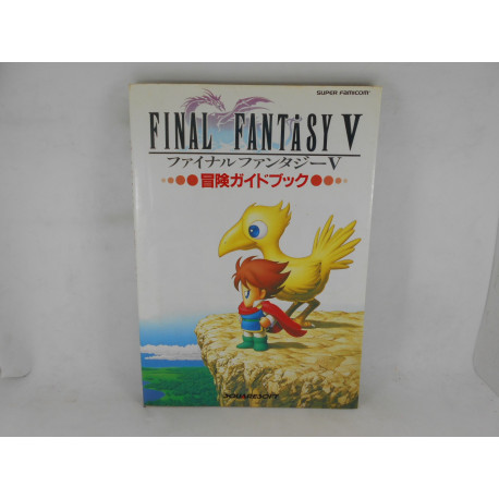 Guia Final Fantasy V Adventure Guide Book SFAM Japonesa