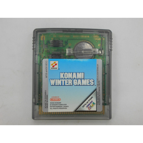 Konami Winter Games