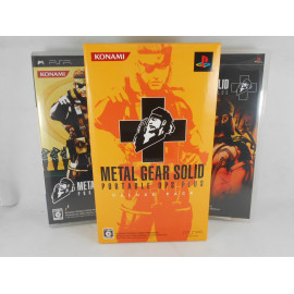 Metal Gear Solid Portable Ops + Deluxe