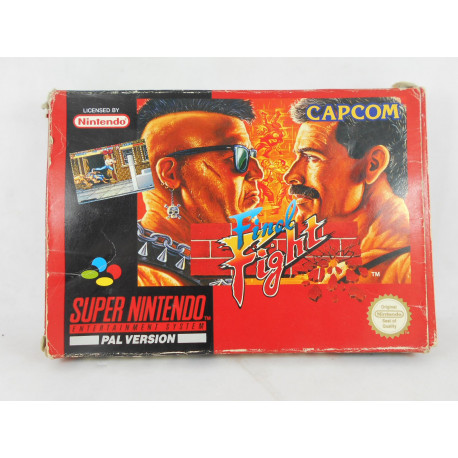 Final Fight (Caja con desperfecto)