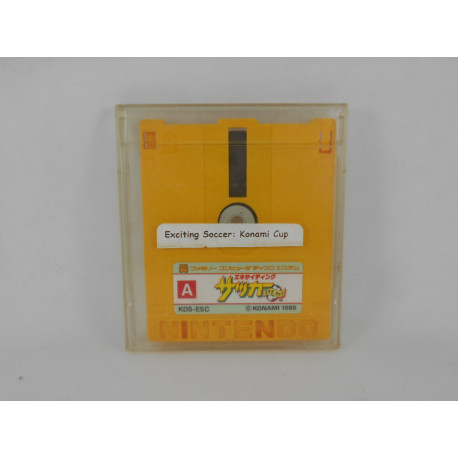 Exciting Soccer: Konami Cup (Disk)