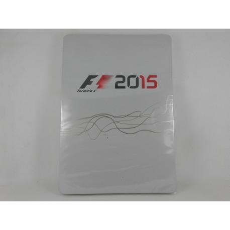 F1 2015 Steelbook + Guia (Nueva)