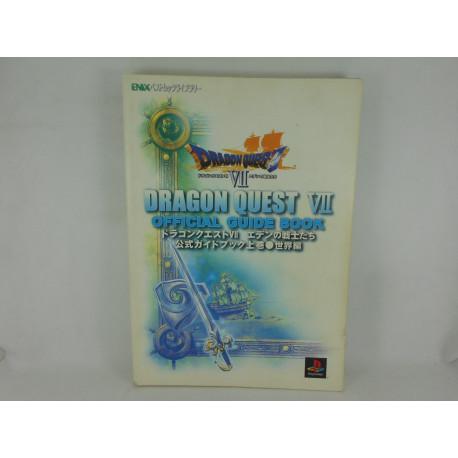 Guia Dragon Quest VII Official Guide Book Jokan Japonesa
