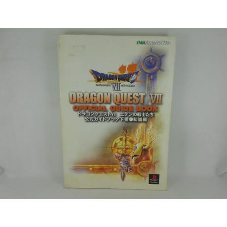 Guia Dragon Quest VII Official Gekan Jap