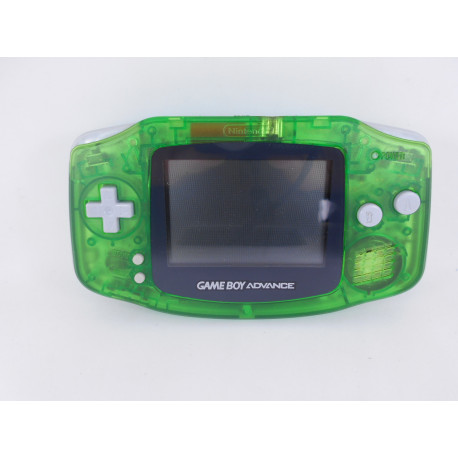 Game Boy Advance Clear Green